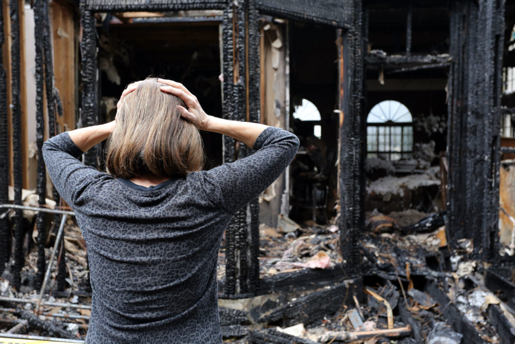 Fire Loss Claim Insurance Settlement, Springfield, MA, Adjuster